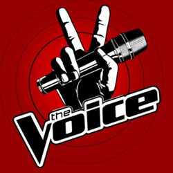 The Voice TV show logo